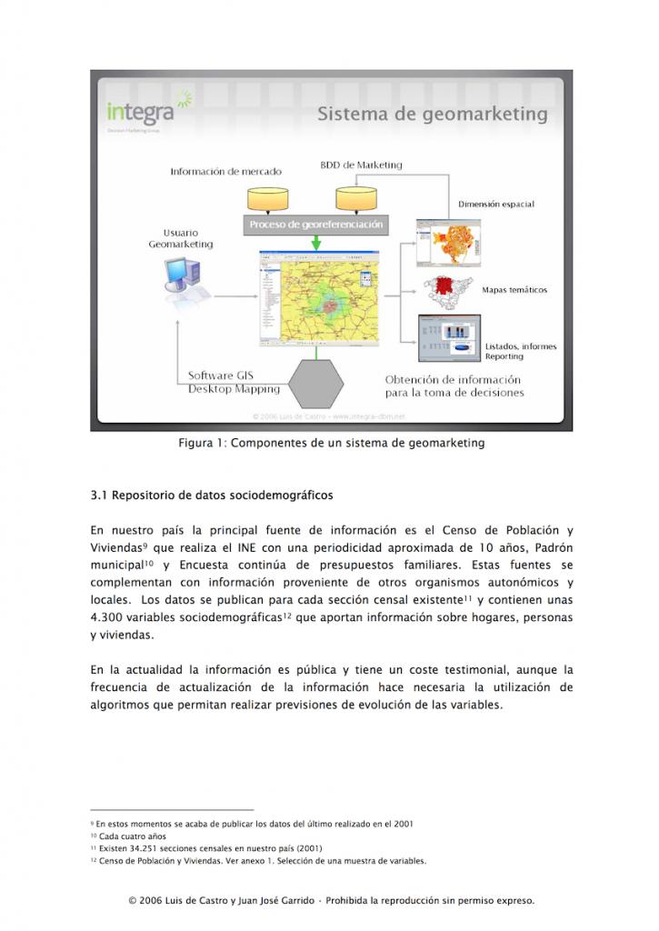 Artículo sobre Geomarketing